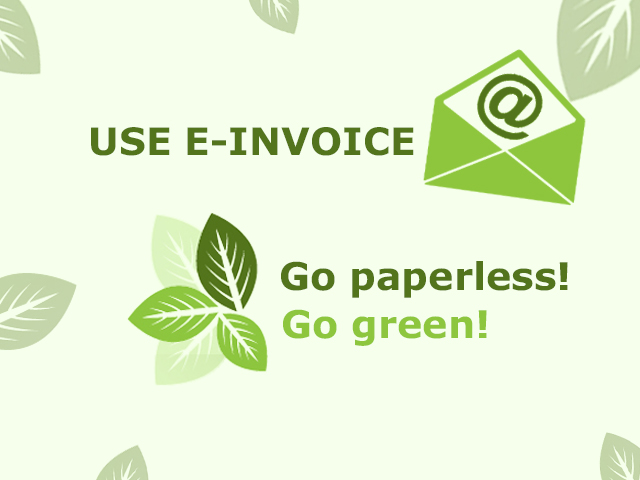 3 Ways E-Invoicing Benefit the Environment